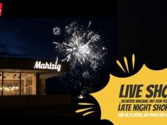 Live Show- Sicherer Umgang mit dem Feuerwerk- Late Night Shopping-